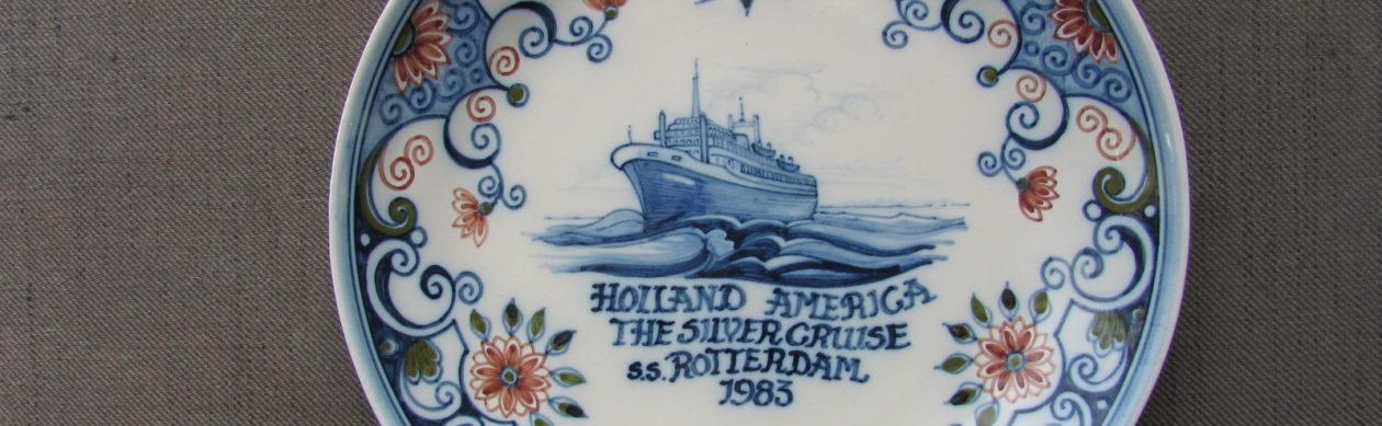 Herinneringsborden / Commemorative Plates Holland America Line